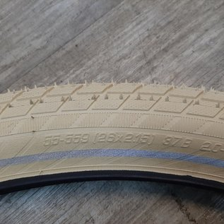 Buitenband Schwalbe Big Apple Creme 55-559 / 26x2.15