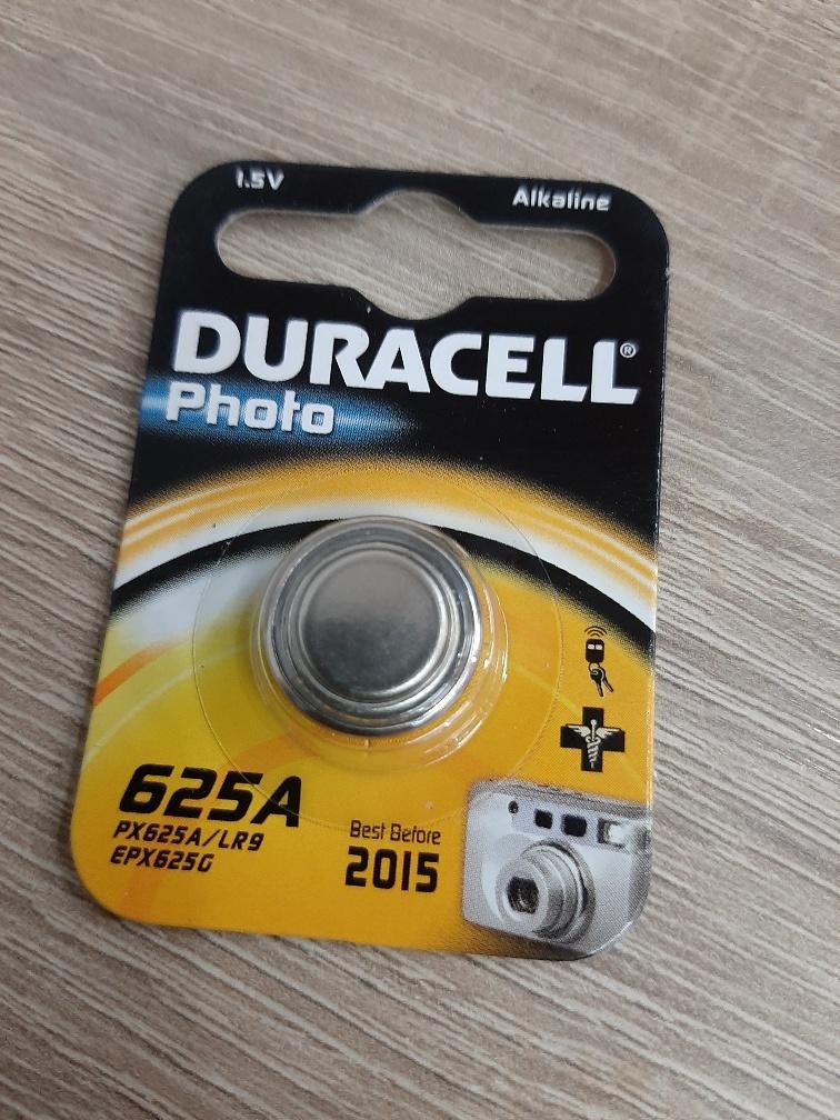 BAT625A:  Batterij Duracell 625A