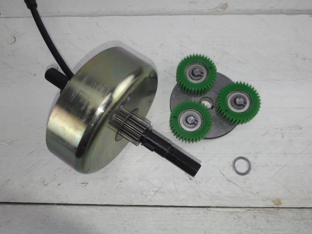 DP-GS-M123F Clutch; freewheel voor DAPU motor M123FS