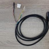 DP-FM-M123F VB 3616D; Voornaaf DAPU motor M123F VB, 36volt kabel 9 polig, kabel rechts,