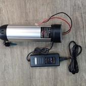 DP-FM-M135FR RB 3616D; Voornaaf DAPU motor M135FR RB 3616D, voor rollerbrake 36volt kabel 9 polig, kabel rechts