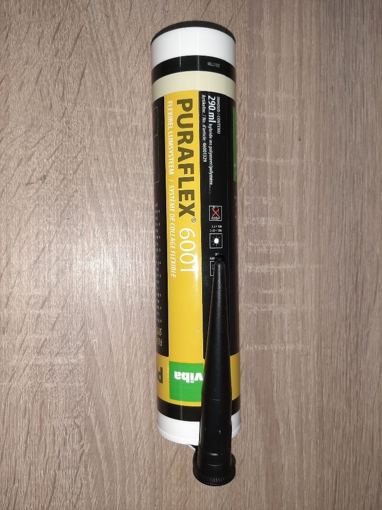 Polymax kit zwart Puraflex 6001