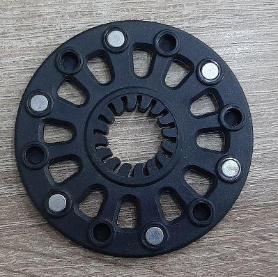Ele166 Magneetschijf Trapas met 6 magneten