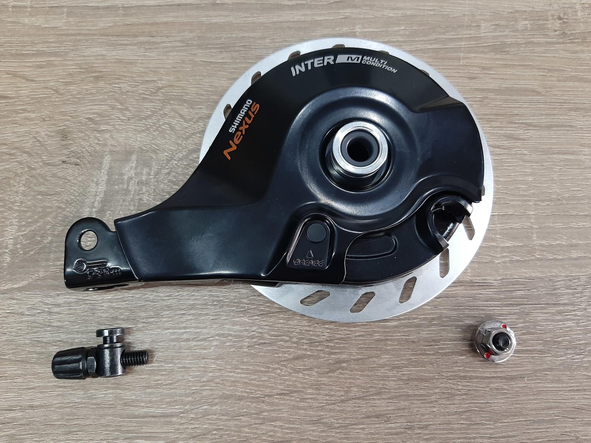 REM-BR-C3000-R; Rollerbrake achter