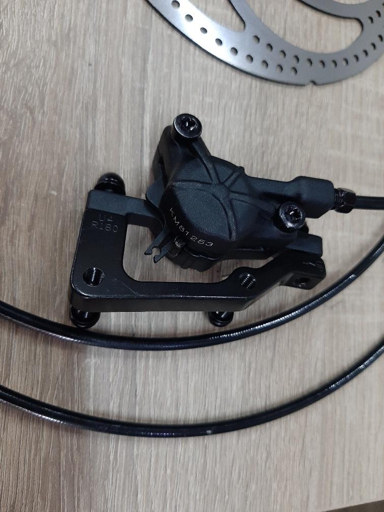 REM710L: Bengal schijfrem links Ares7+ 2,6m kabel inkl schijf en adaptor