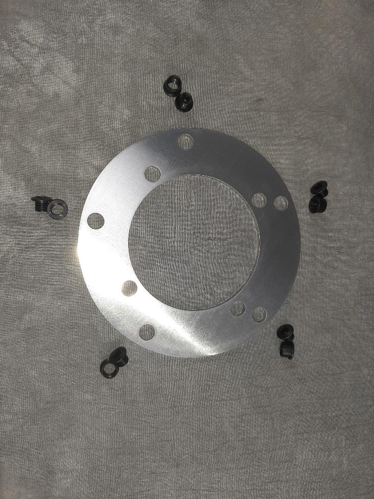 jp tandwielring Aluminium van 104BCD naar 135BCD