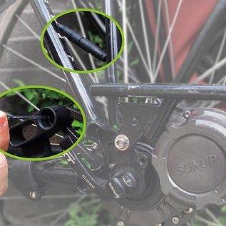 Dynamo op de naaf 8Watt met USB aansluiting