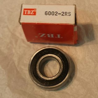 TBZ bearings 6002-2RS, 15x32x9