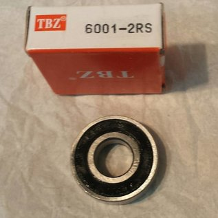 TBZ bearings 6001-2RS lager, 12x28x8