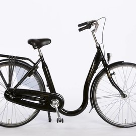 Extra lage instap fiets