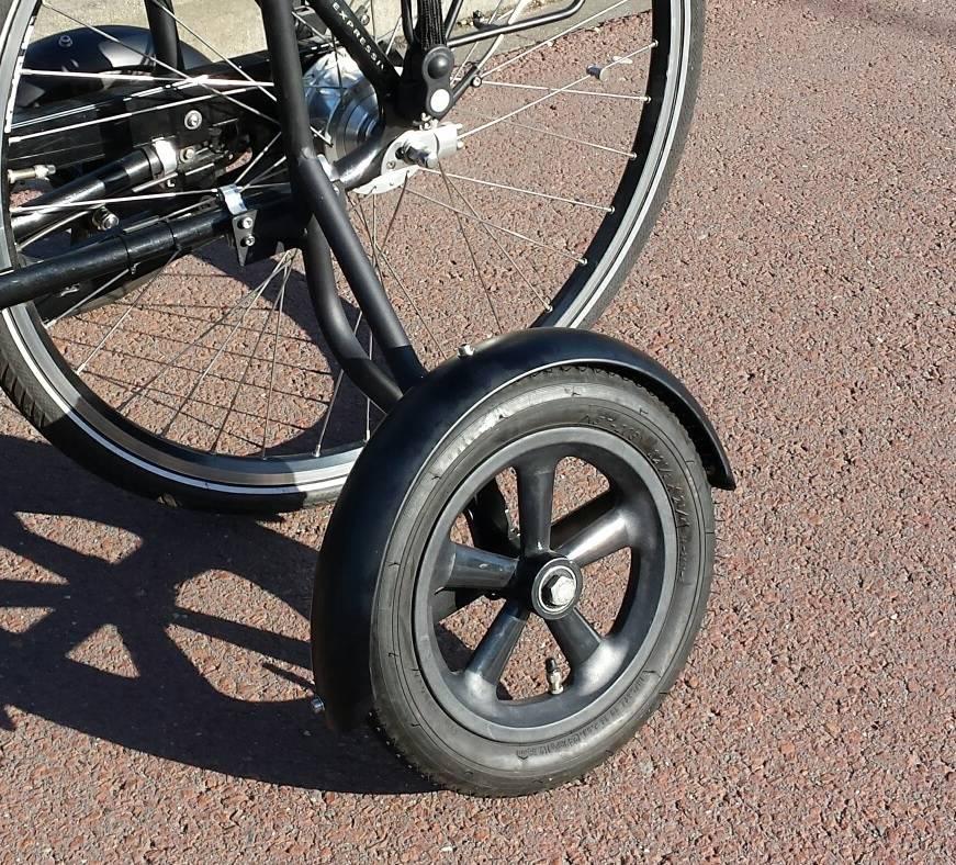 JP0050 Spatbordenset voor zijwielen