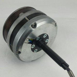 Electromotor TX24 Volt links voor rollerbrake