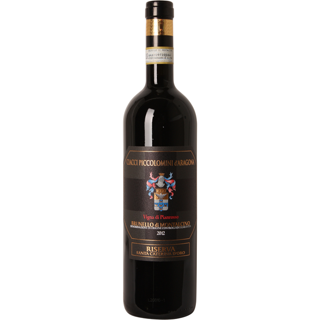 Ciacci Piccolomini - Brunello di Montalcino Pianrosso Riserva 2012 Magnum