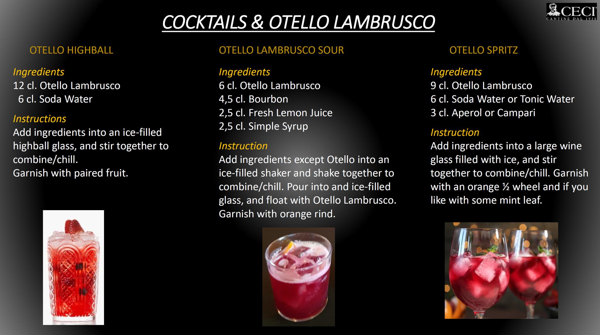 Otello Cocktail