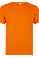 Logostar T-SHIRT basic met ronde hals oranje