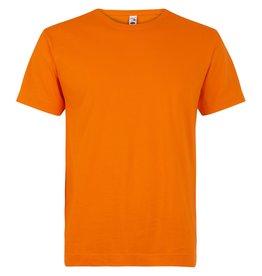 Logostar T-SHIRT basic ronde hals oranje