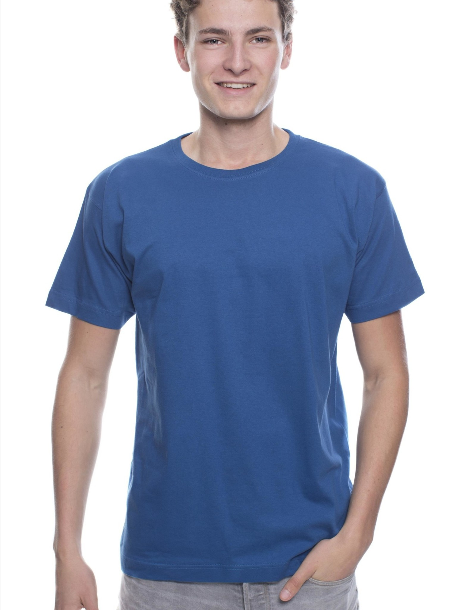 Logostar T-SHIRT basic met ronde hals navy
