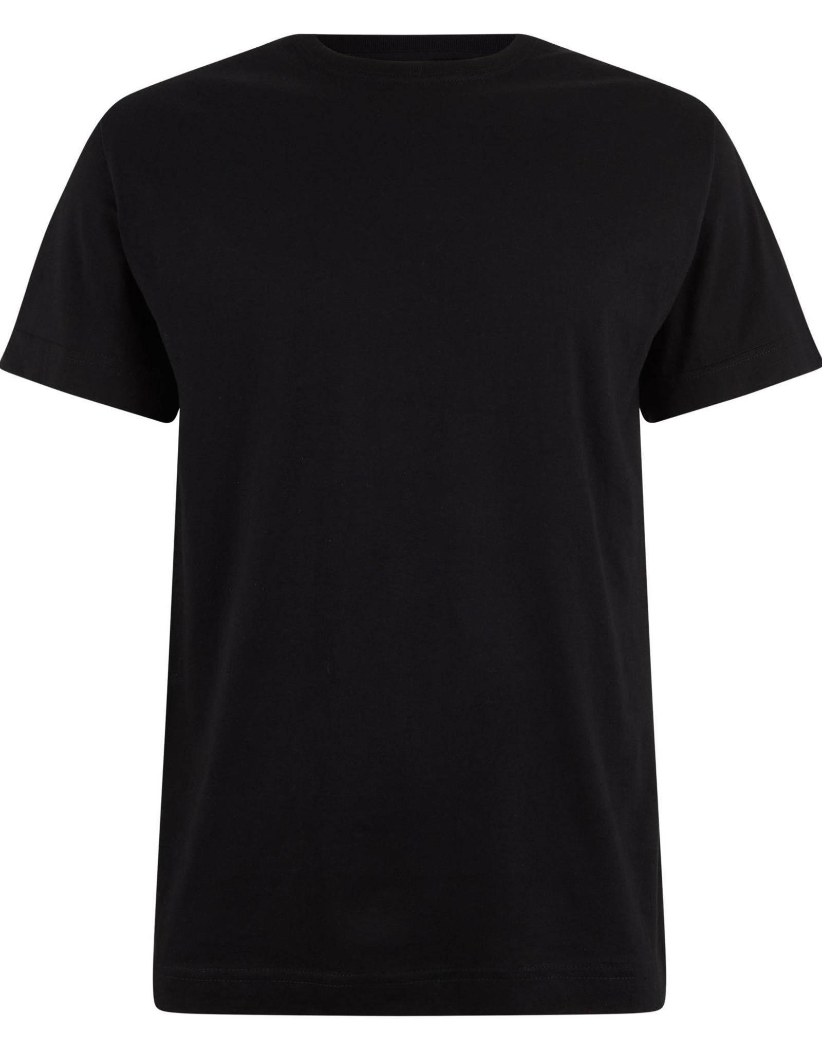 Logostar T-SHIRT basic met ronde hals zwart