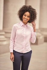 Russell BLOUSE Classic Oxford lange mouw navy