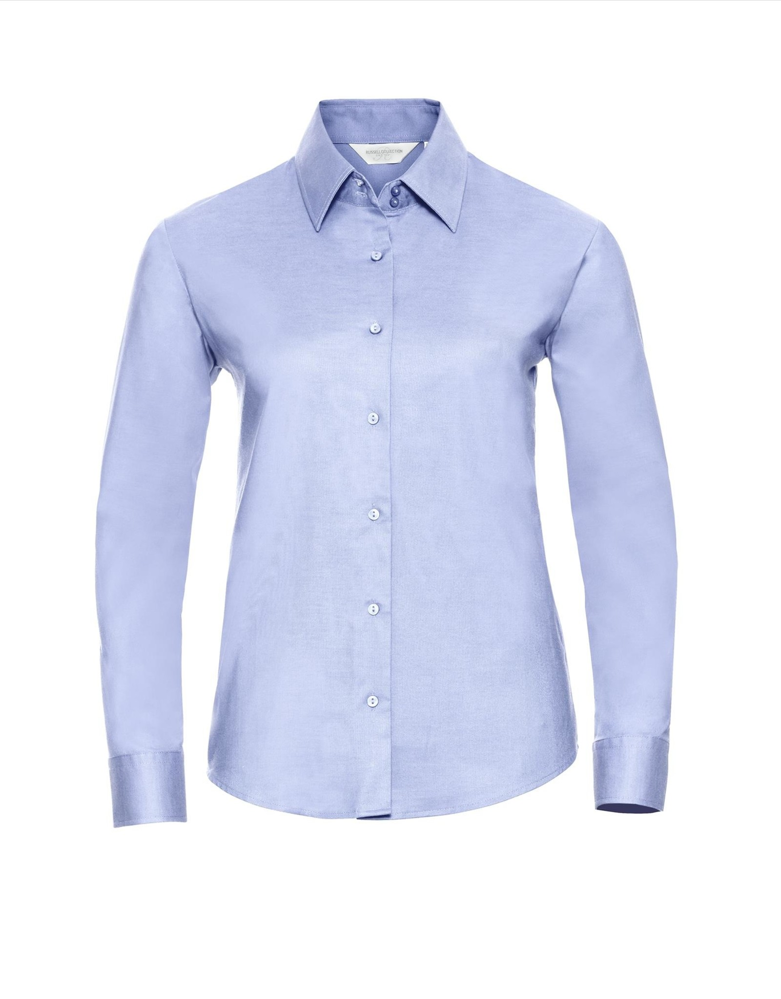 Russell BLOUSE Classic Oxford lange mouw sky