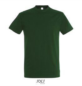 Sol's T-SHIRT basic ronde hals 'Imperial' bosgroen