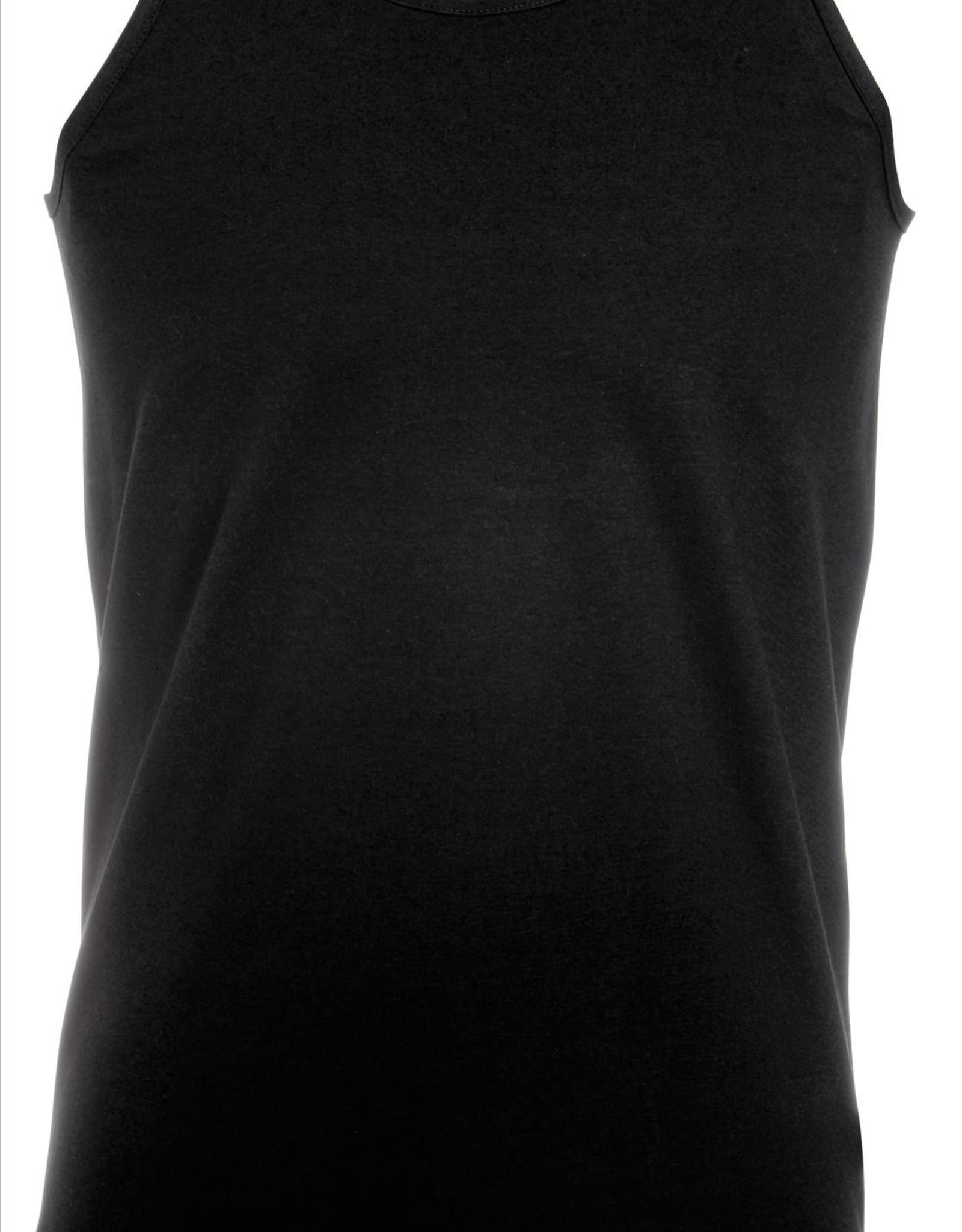 Fruit of the Loom SINGLET basic  'Valueweight Athletic Vest' zwart