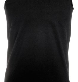 Fruit of the Loom SINGLET basic  'Valueweight Athletic Vest' zwart