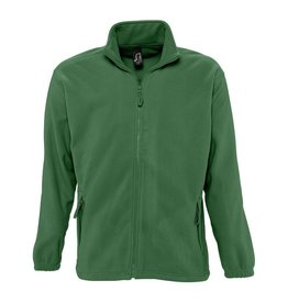 Sol's FLEECE VEST 'North' bosgroen
