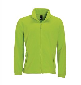 Sol's FLEECE VEST 'North' lime