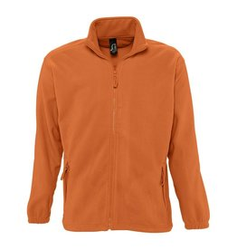 Sol's FLEECE VEST 'North' oranje