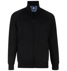 Kam Jeans SWEATVEST classic zwart