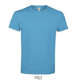 Sol's T-SHIRT basic ronde hals 'Imperial' atoll