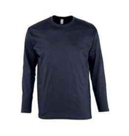 Sol's T-SHIRT lange mouw 'Monarch' navy