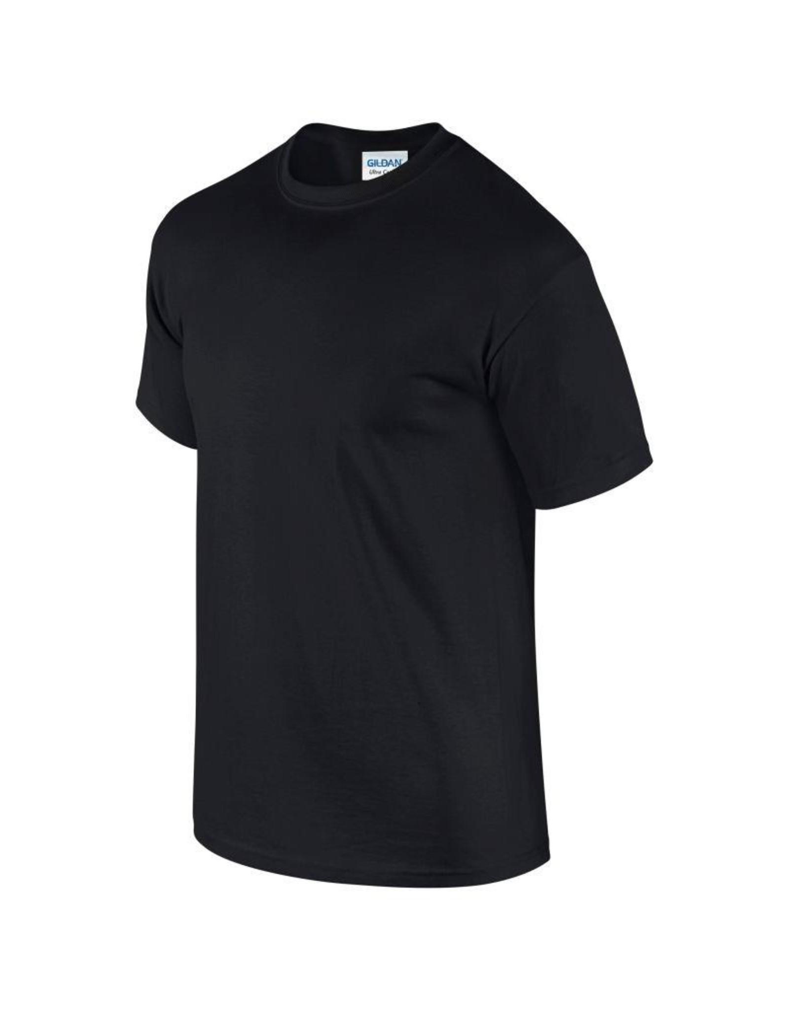 Gildan T-SHIRT heavy basic zwart
