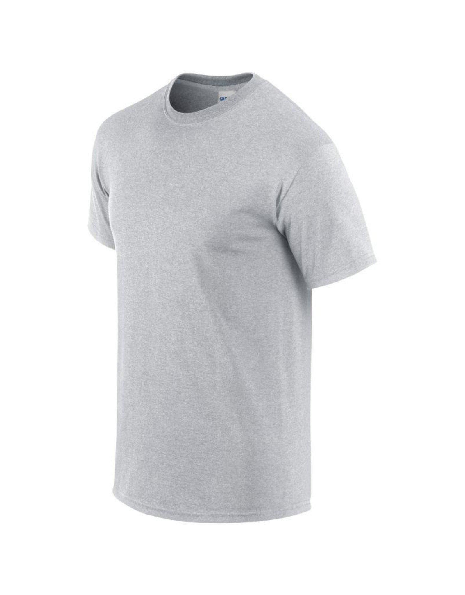 Gildan T-SHIRT heavy basic grijs