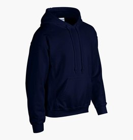Gildan SWEATER  'heavy blend' met capuchon navy
