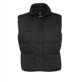 Sol's BODYWARMER 'Equinox' workwear zwart