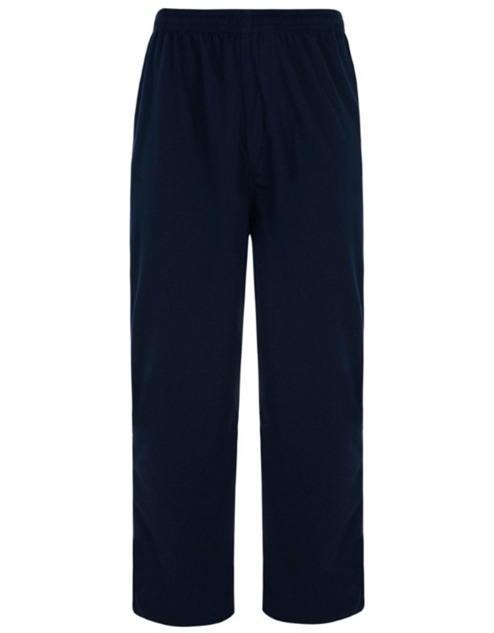 Kam Jeans JOGGING / VRIJETIJDS BROEK zwart