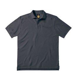 B&C Workwear POLOSHIRT katoen antraciet