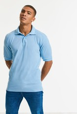 Russell Heavy POLOSHIRT polycotton wit