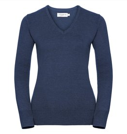 Russell PULLOVER dames gebreid denim