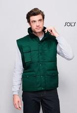 Sol's BODYWARMER 'Equinox' workwear bosgroen