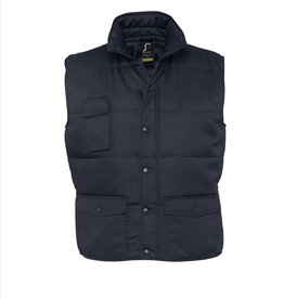 Sol's BODYWARMER 'Equinox' workwear navy