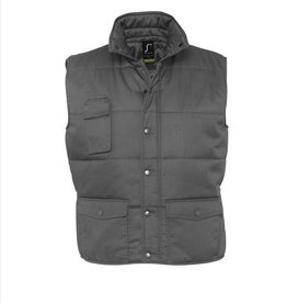 Sol's BODYWARMER 'Equinox' workwear antraciet