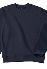 B&C Workwear set-in SWEATER navy