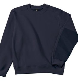 B&C Workwear set-in SWEATER navy