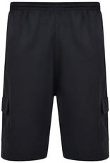 Kam Jeans Basic JOGGING / VRIJETIJDS SHORT zwart