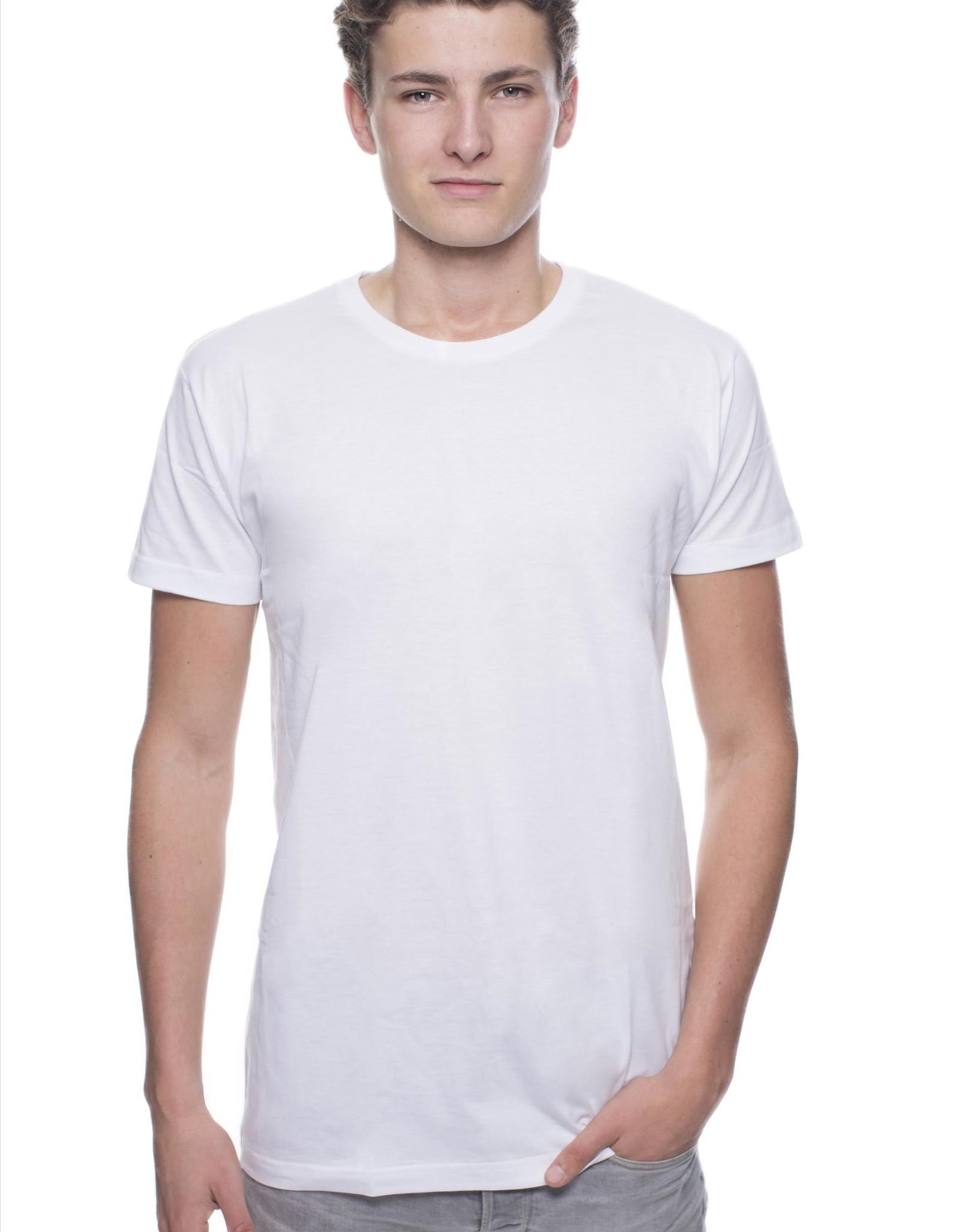 Logostar T-SHIRT basic extra lang zwart