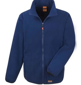 Result Workwear micro FLEECE JACKET navy