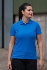 Pro RTX Dames POLOSHIRT piqué workwear bordeaux